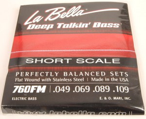 Short Scale Bass Strings Pic