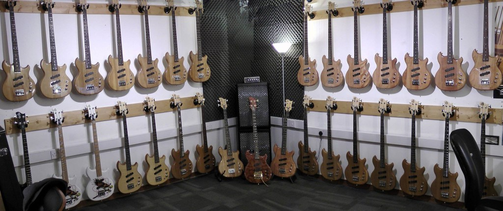 Loads of SWB-1 basses