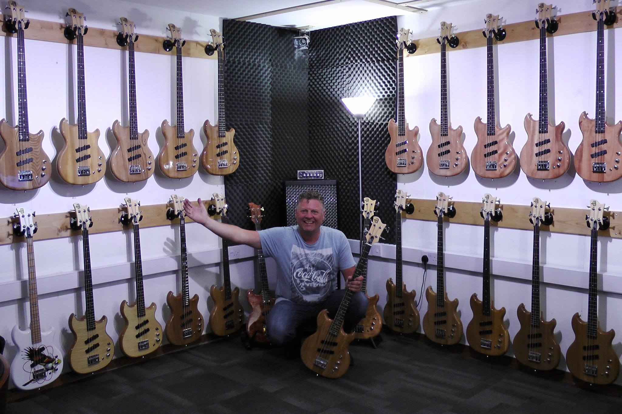 They're here - SWB-1 short scale basses