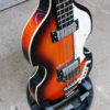 Hofner Violin short scale bass side on view