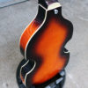 Hofner Violin short scale bass rear side view