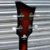 Hofner Violin short scale bass headstock rear